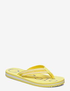 Clara 1 - flip-flops - yellow