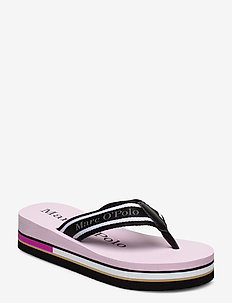 Dora 1 - teenslippers - rose combi