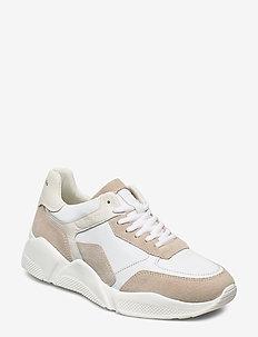 Massima 1B - chunky sneakers - white/sand