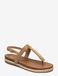 Sarah 1 - flade sandaler - beige