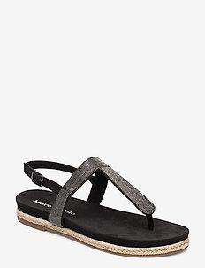 Sarah 1 - flade sandaler - dark grey