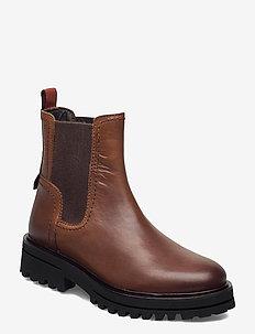 Licia 8B - chelsea støvler - cognac