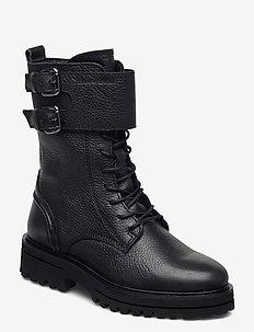 Licia 4C - flate ankelstøvletter - black