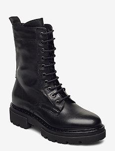 Under 1A - flade ankelstøvler - black