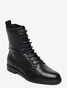 Polo 4 - flade ankelstøvler - black