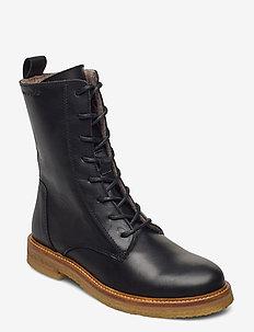 Brenda 1B - flade ankelstøvler - black