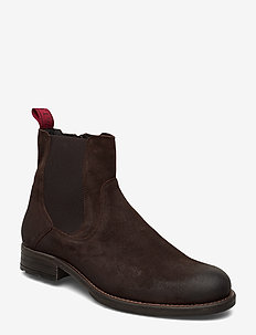 Sutton 5A - chelsea boots - dark brown