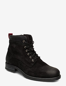 Sutton 4A - veter schoenen - black
