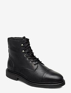 Redwood 8B - veter schoenen - black