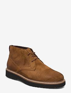 Grizzly 3A - desert boots - cognac