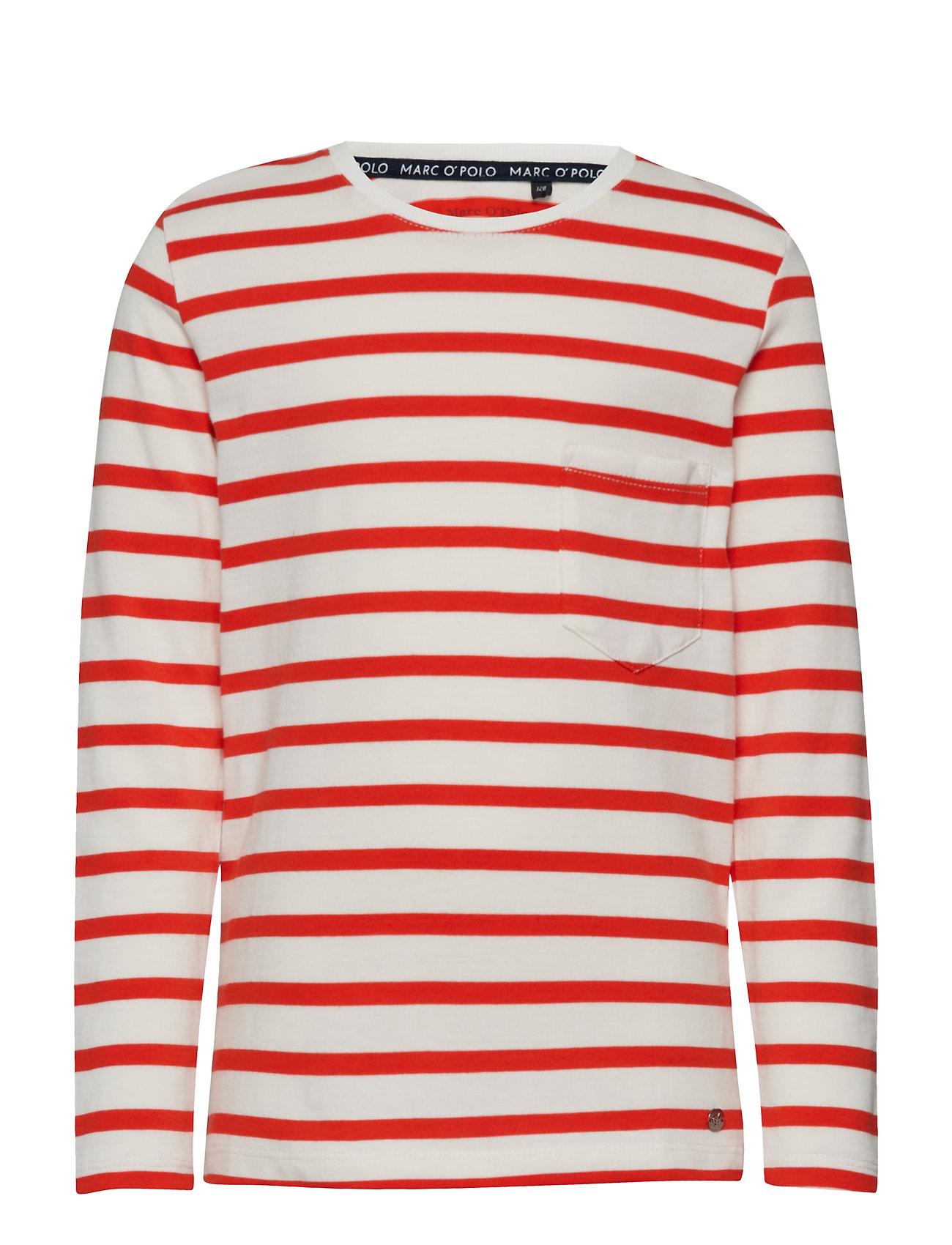 Image of T-Shirt 1/1 Arm Langærmet T-shirt Multi/mønstret MARC O'POLO JUNIOR (3131511079)