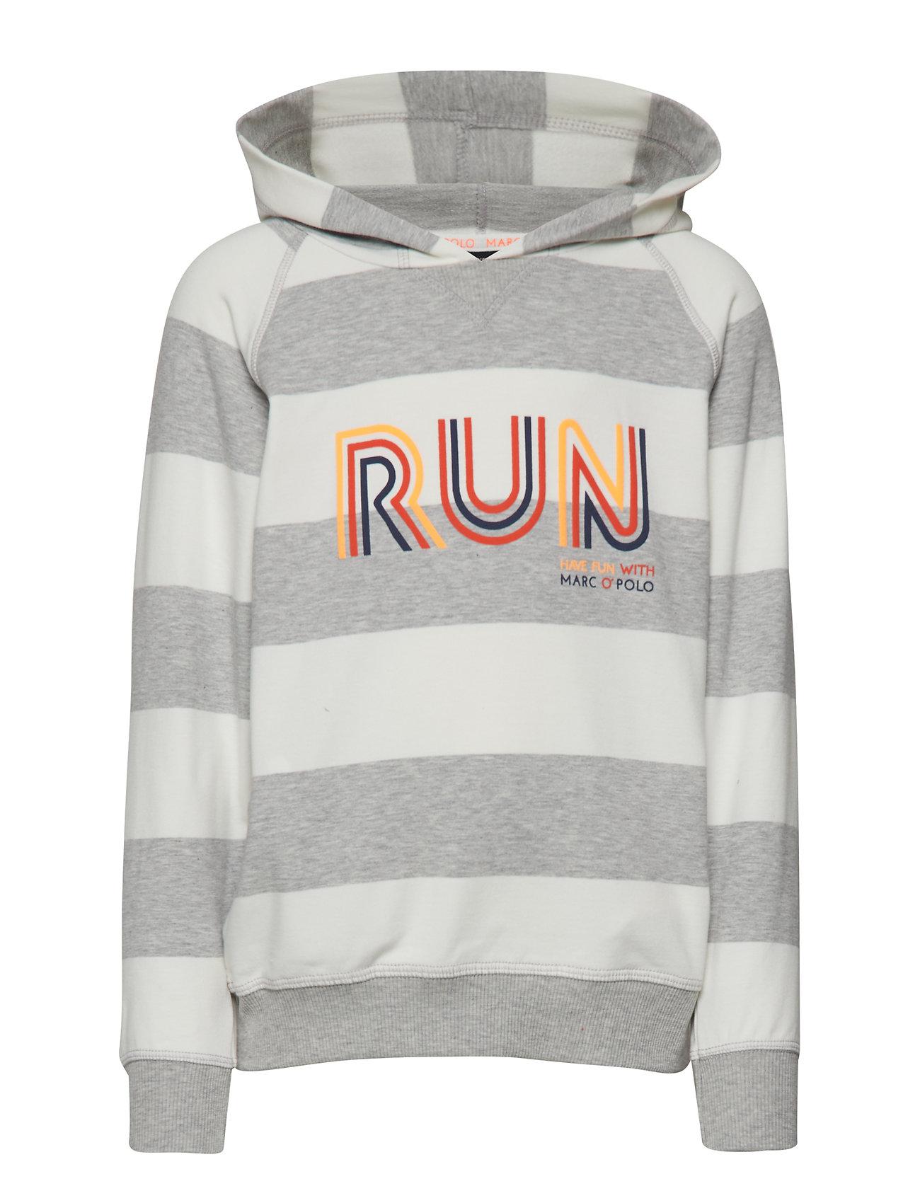 Marc O'Polo Junior Sweatshirt 1/1 Arm - Y/D STRIPE-MULTICOLORED