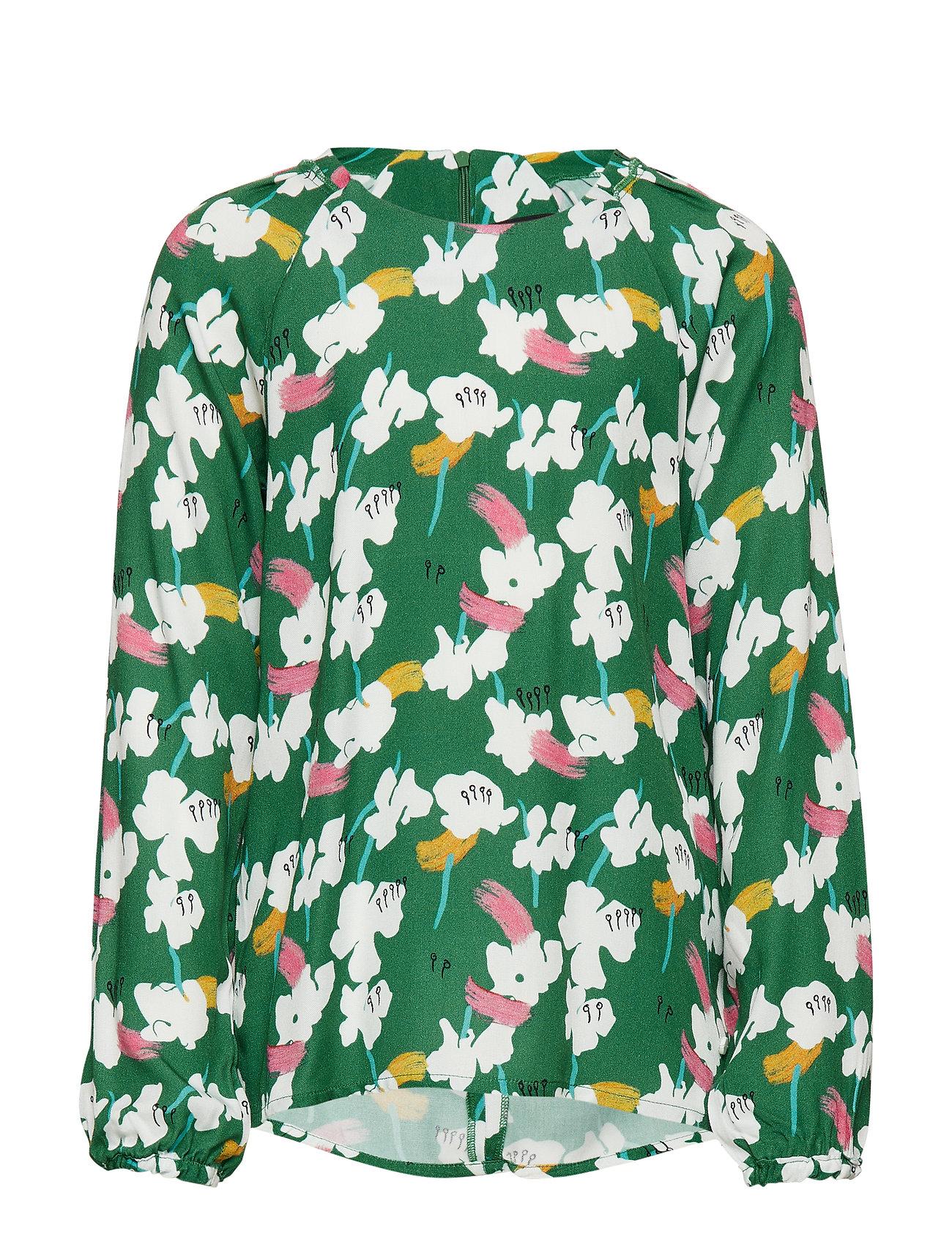 Marc O'Polo Junior blouse - ALLOVER-MULTICOLORED