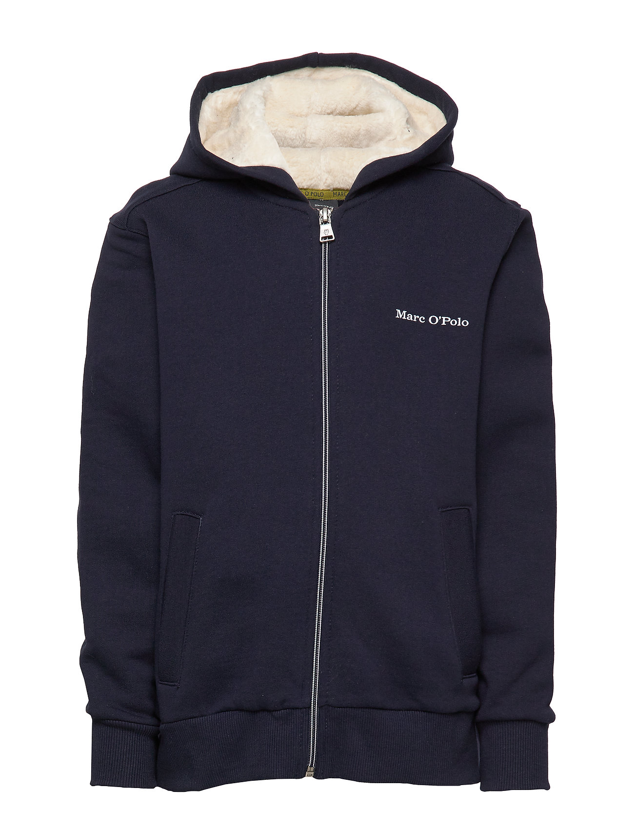 Marc O'Polo Junior sweat jacket - NIGHT SKY-BLUE