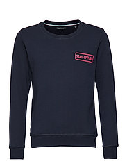 sweat shirt - NIGHT SKY-BLUE