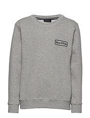 Sweatshirt 1/1 Arm - MITTELGRAU MELANGE-GRAY