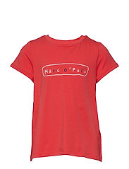 T-Shirt 1/4 Arm - CAYENNE-RED