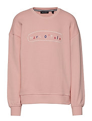 Sweatshirt 1/1 Arm - BLOSSOM-ROSE