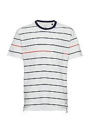 T-Shirt 1/4 Arm - Y/D STRIPE-MULTICOLORED