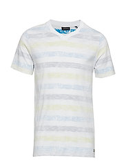 T-Shirt 1/4 Arm - ALLOVER-MULTICOLORED
