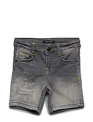 Jeansbermudas - GREY DENIM-GRAY