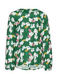 blouse - ALLOVER-MULTICOLORED