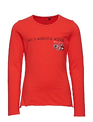 long sleeve - FLAME SCARLET-RED