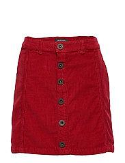 skirt - RUMBA RED-RED