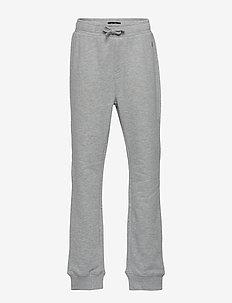 jogging pants - MITTELGRAU MELANGE-GRAY