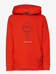 Sweatshirt 1/1 Arm - CHERRY TOMATO-RED