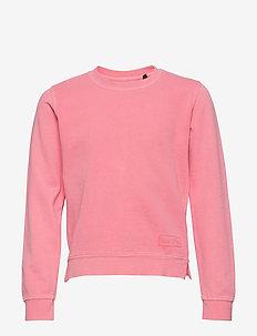 Sweatshirt 1/1 Arm - BUBBLEGUM-PINK