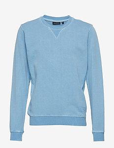 Sweatshirt 1/1 Arm - BLUE SHADOW-BLUE