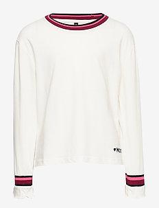 blouse shirt - CLOUD DANCER-WHITE