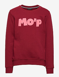 sweat shirt - RUMBA RED-RED