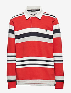 rugby shirt - VALIANT POPPY-RED