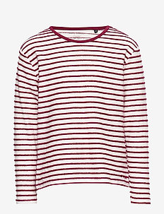 long sleeve - RUMBA RED-RED