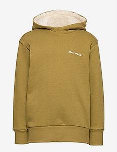 sweat shirt - GREEN MOSS-GREEN