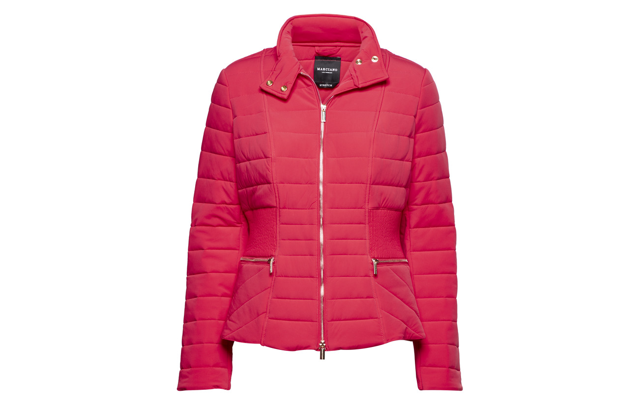 Sage Guess Jacket 100 Vivid Puffer Marciano Rose By Polyurethane 1vx5qAFEw