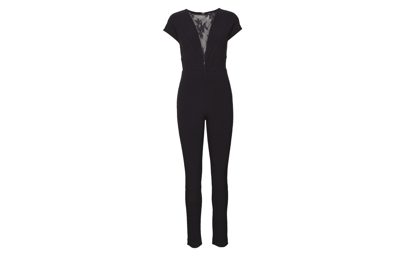 Marciano 95 5 By Black Elastane Guess A996 Jet Vivid Jumpsuit Polyester rSnrq7Pw