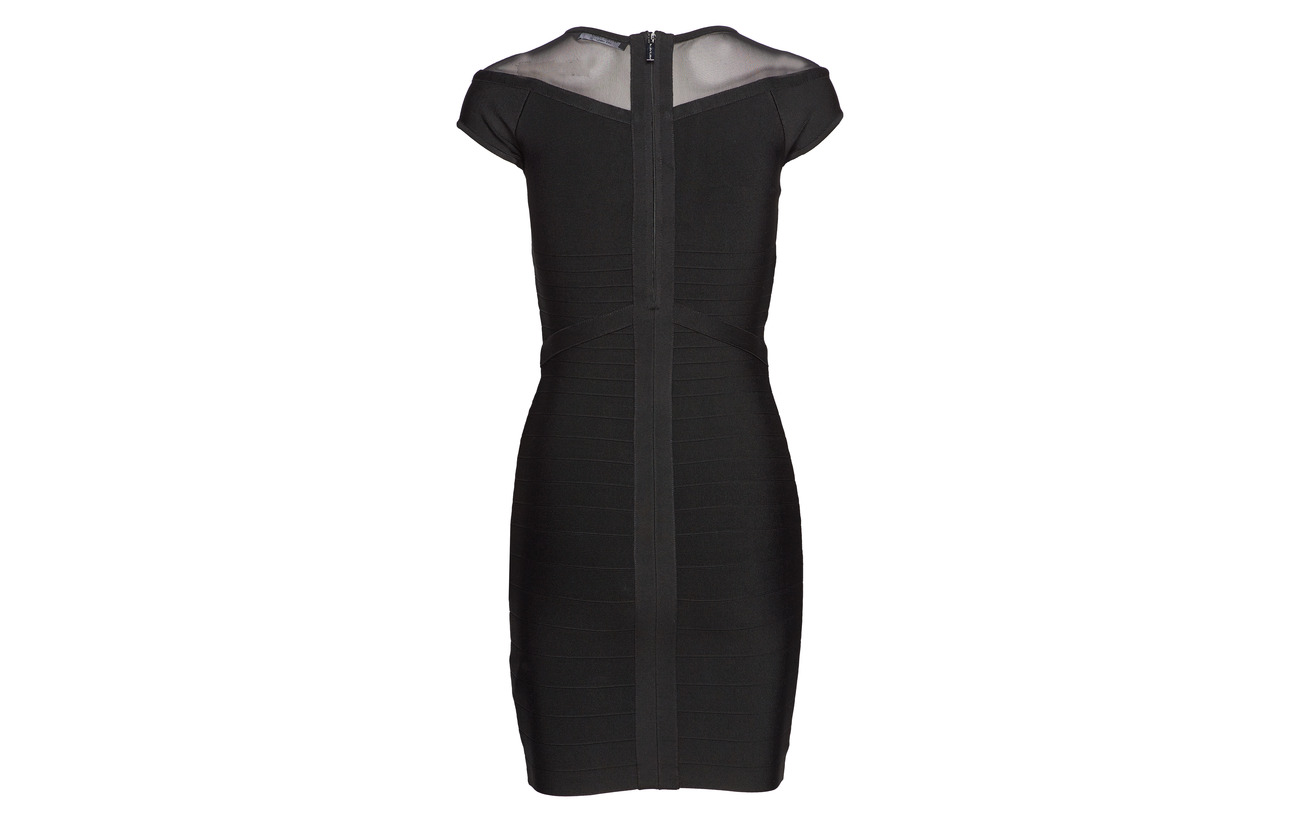 Jet 16 Priya Bandage Marciano 1 Viscose Dress Elastane Black 83 A996 By Polyamide Guess tvAXxA