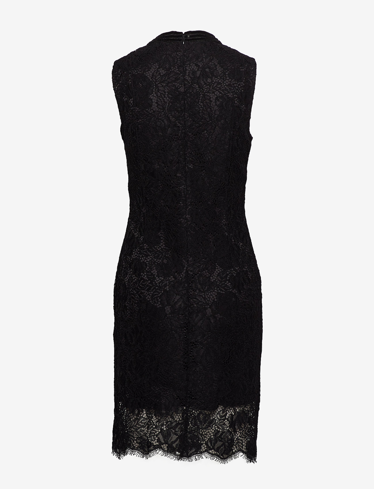 Marciano by GUESS - CRIMSON LACE EMB. DRESS - spitzenkleider - noir de jais - 1