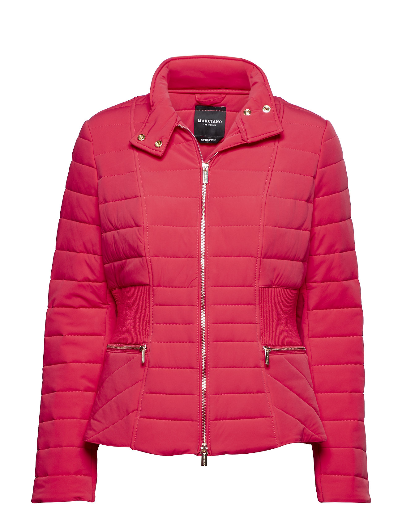 Marciano by GUESS SAGE PUFFER JACKET - VIVID ROSE