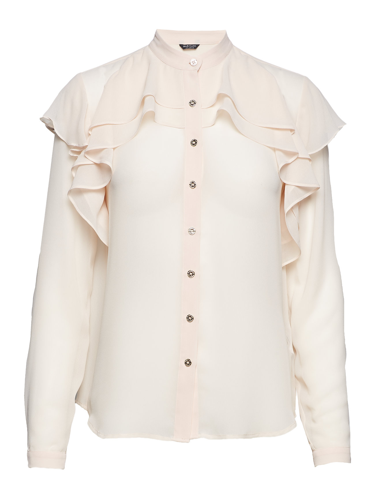 Marciano by GUESS ALLURA BLOUSE - COCOA CREAM