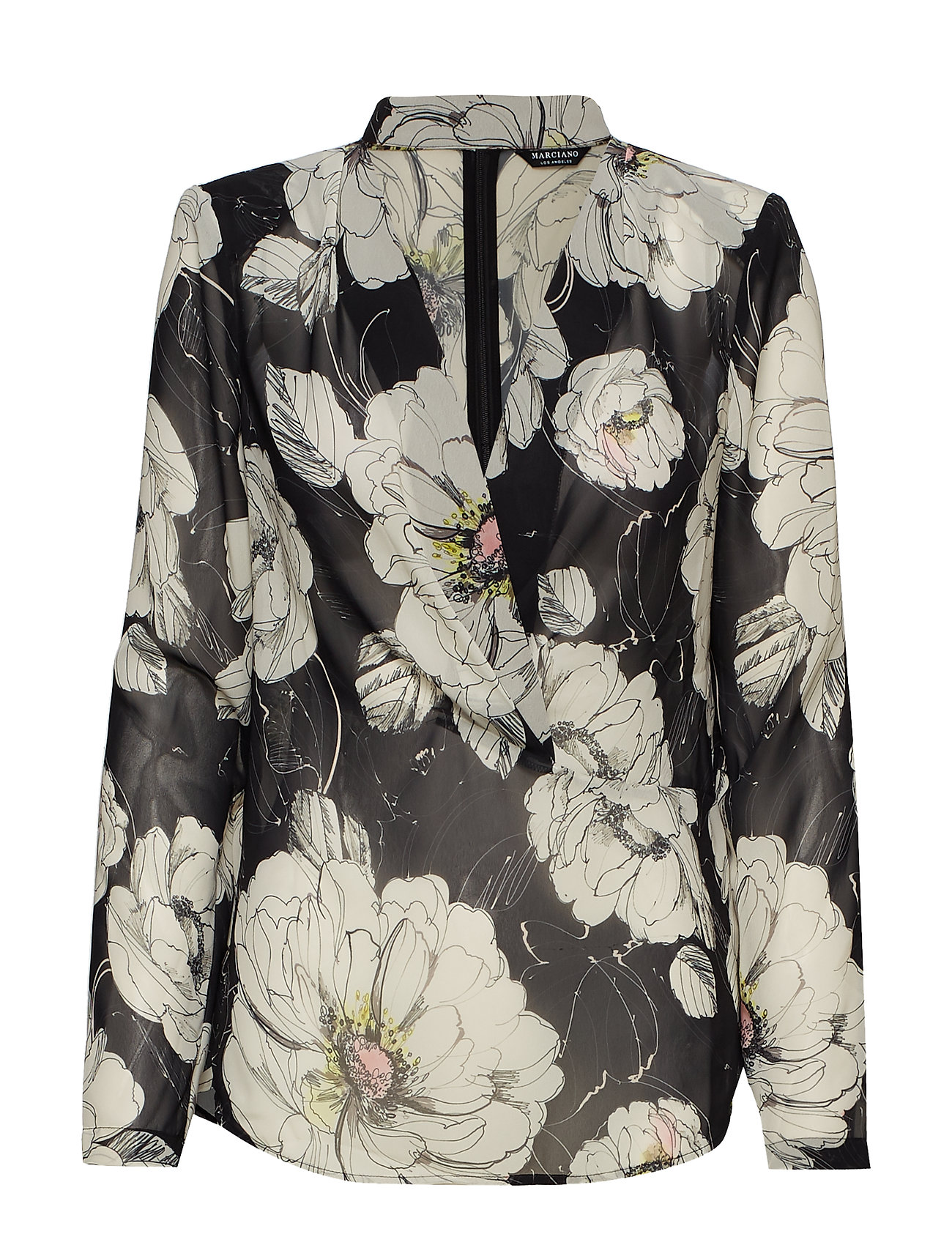 Marciano by GUESS FINE LINES FLORAL TOP