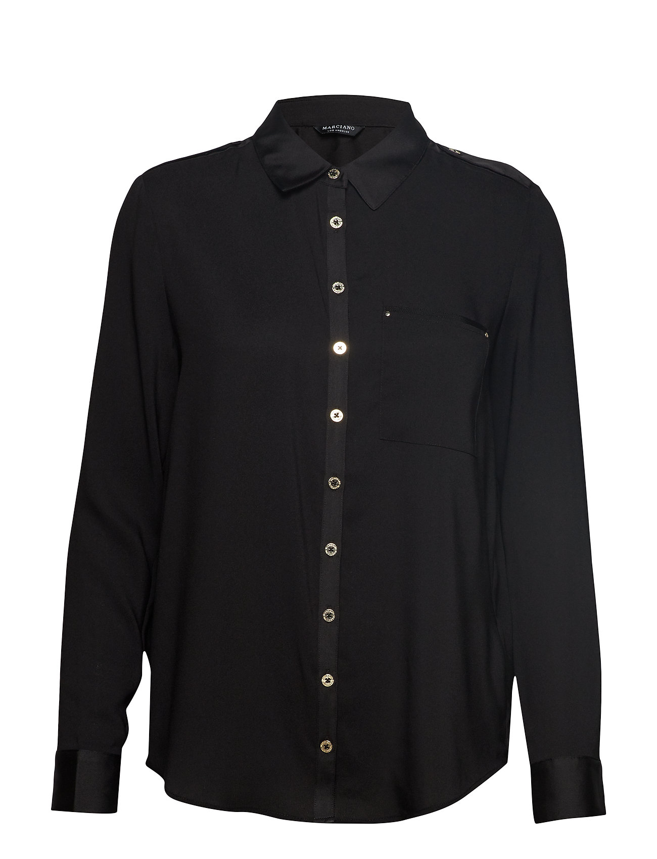 2933e0274 Piper Shirt (Jet Black A996) (£54.45) - Marciano by GUESS - | Boozt.com