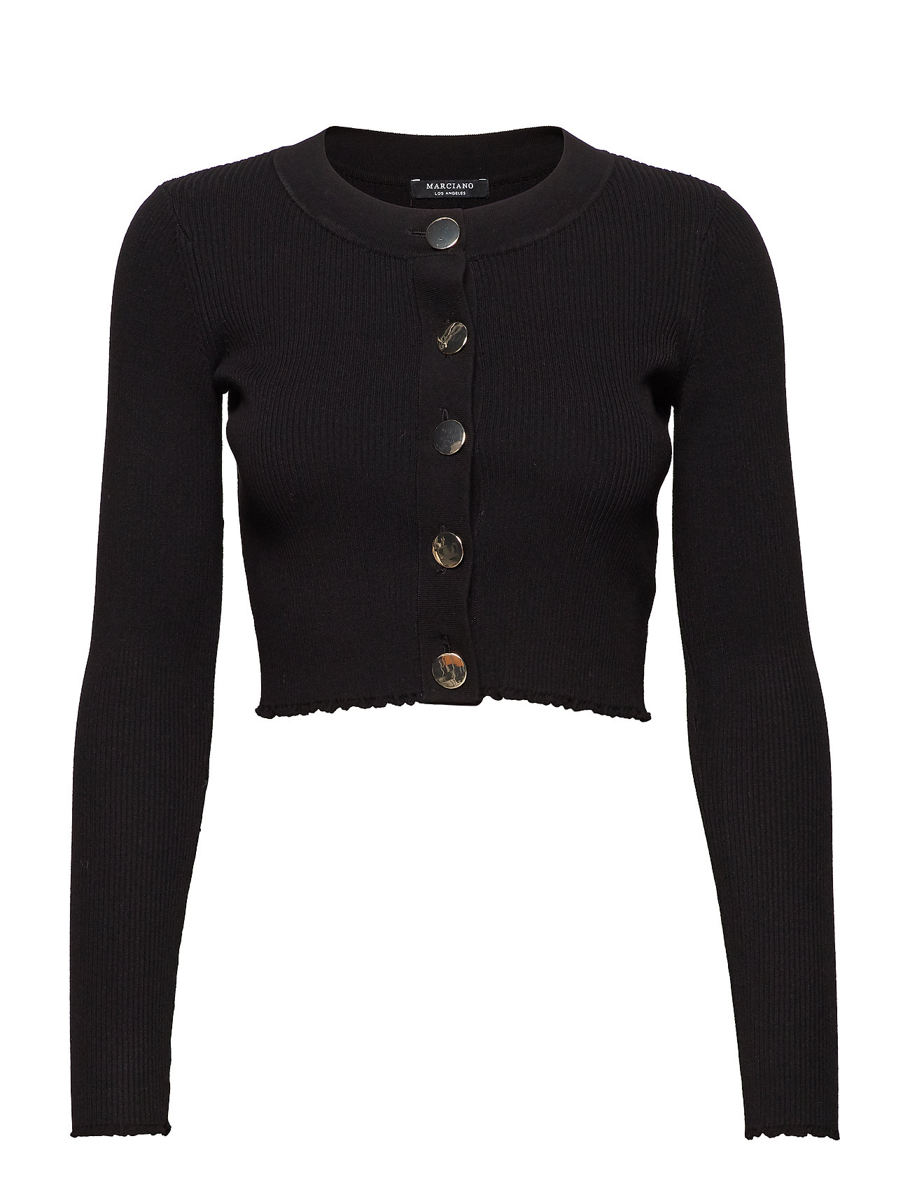 Kyra A996Marciano Sweater Black Cardignjet By Guess Rib 8kn0wPO