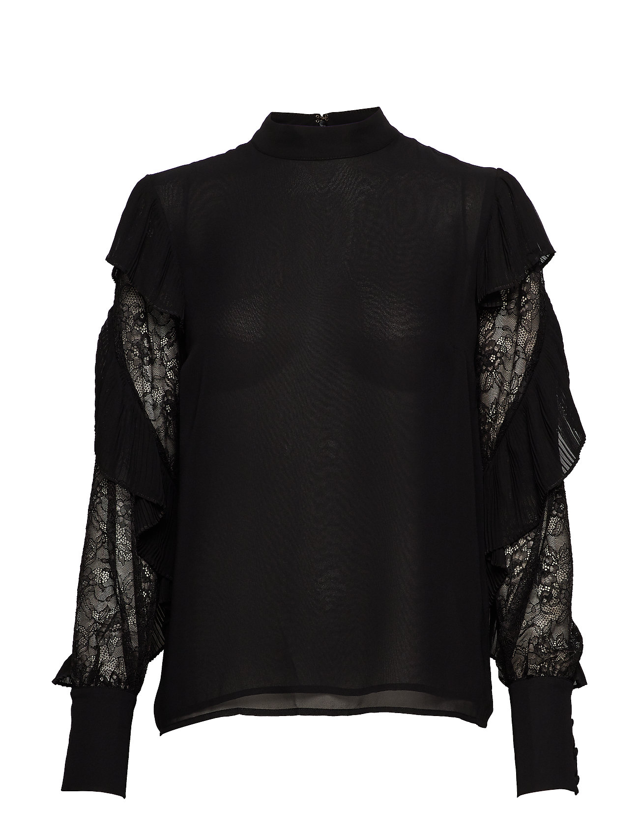 Marciano by GUESS FELL IN LOVE BLOUSE - JET BLACK A996