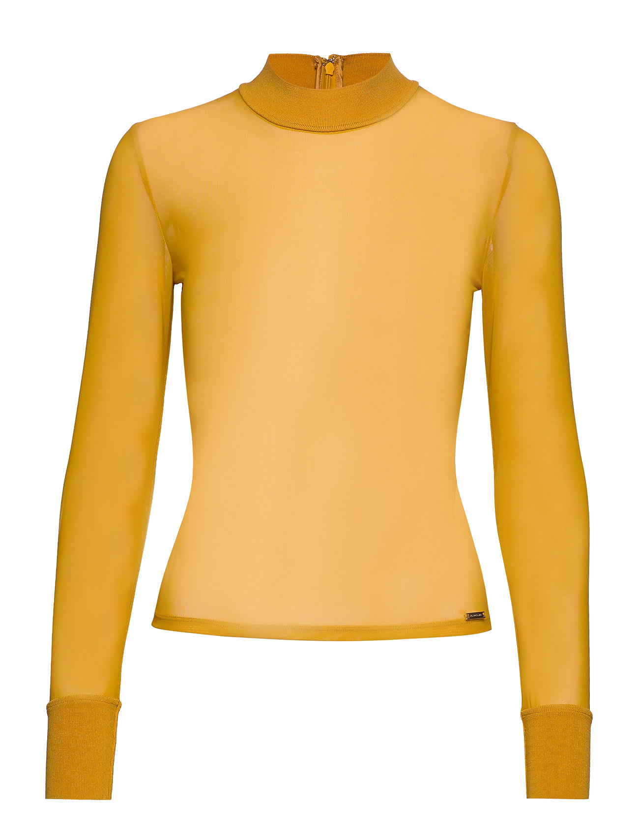 Marciano by GUESS SID MESH TOP - MISS MUSTARD