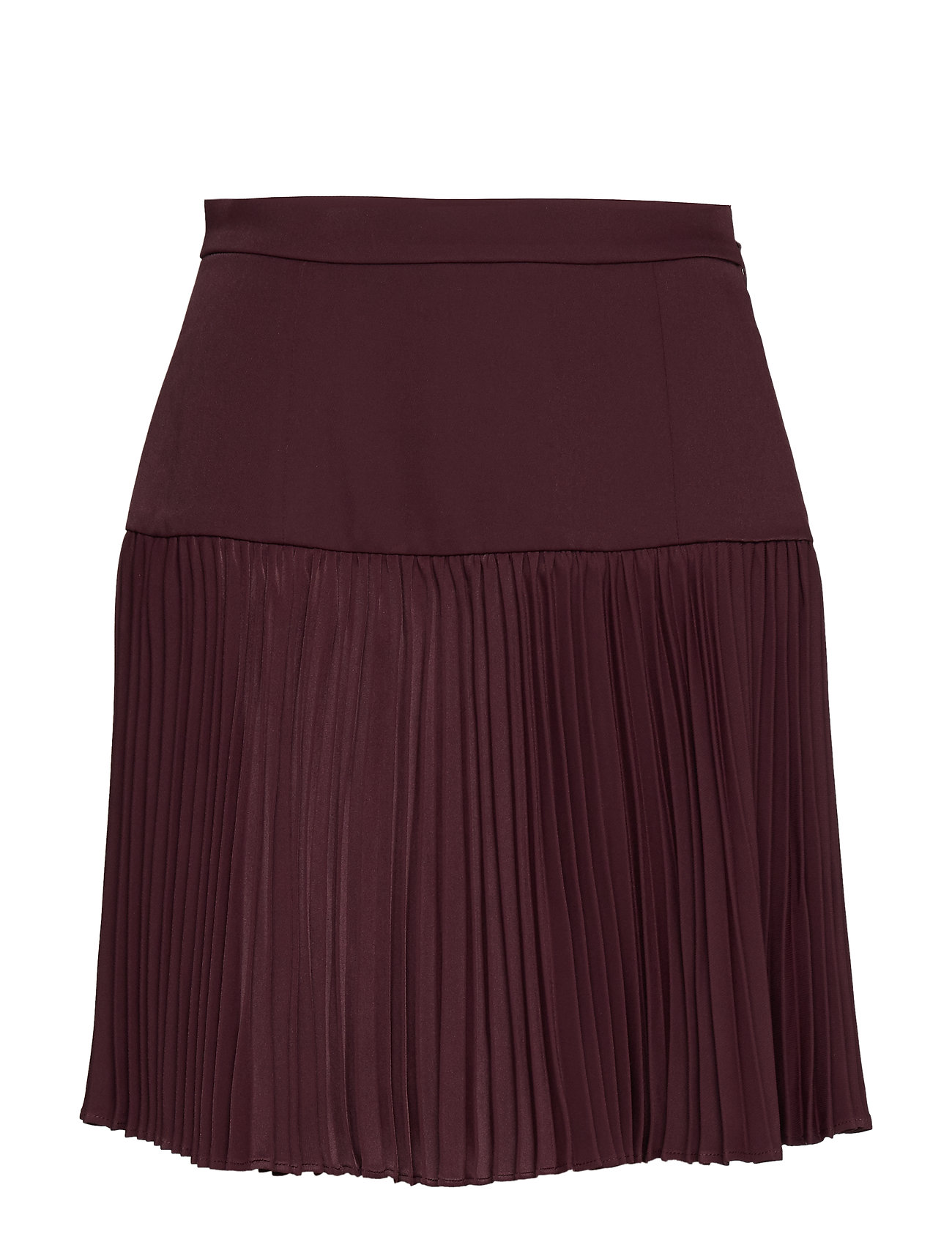 Marciano by GUESS EMI PLEATED MINI SKIRT - BLOODLINE