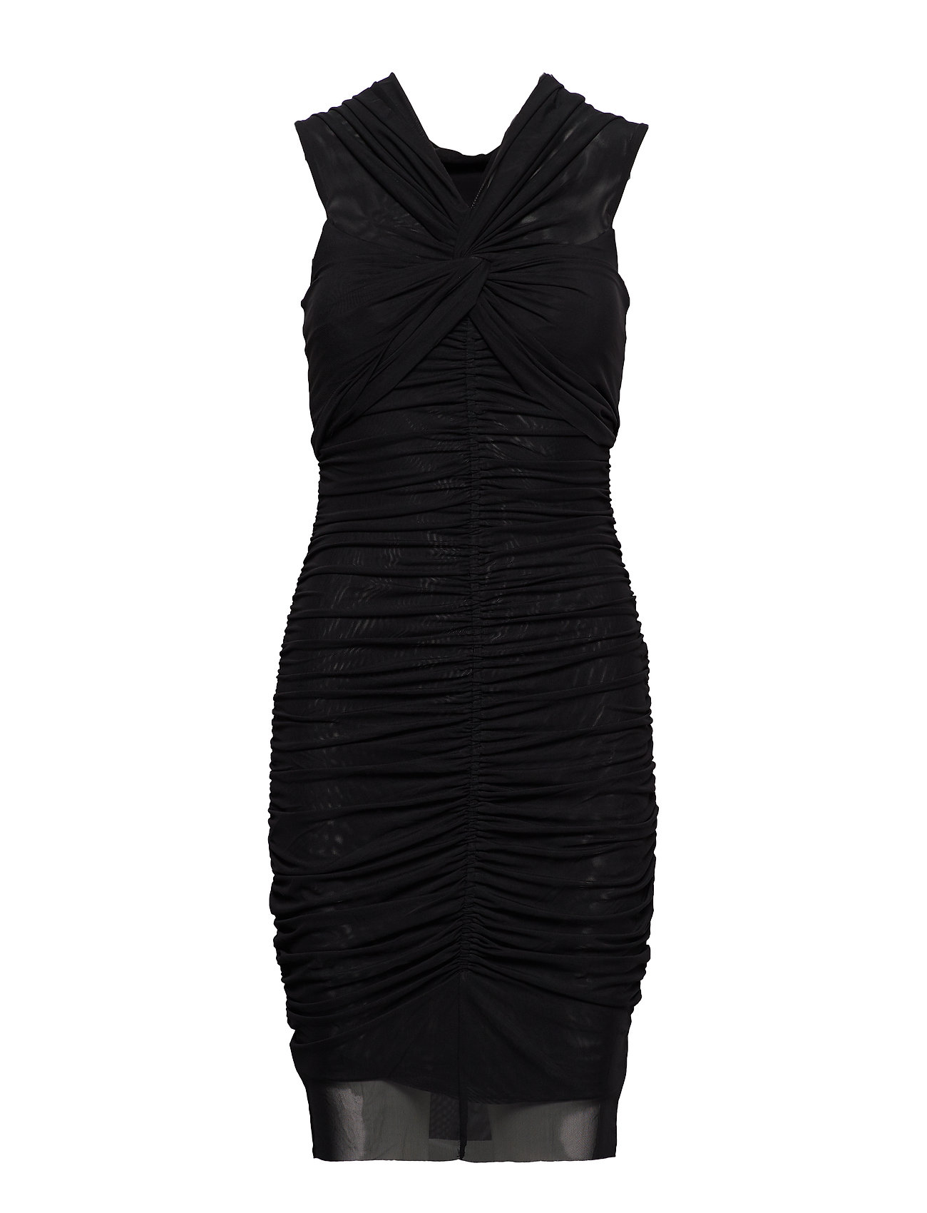 Marciano by GUESS NADINE MESH DRESS - JET BLACK A996